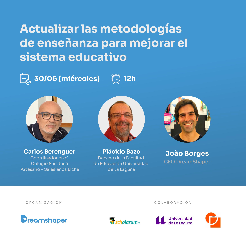 webinar España sistema educativo